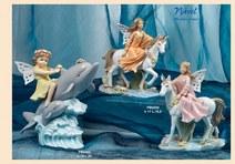 1457 - Statuine 'Nàvel' - Articoli Regalo - Bomboniere Porcellana - Prodotti - Rebolab