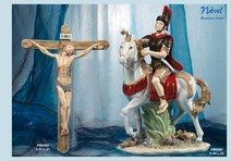 1463 - Statuine Santi - Immagini Sacre 'Nàvel' - Articoli Regalo - Bomboniere Porcellana - Prodotti - Rebolab