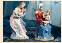 1478 - Statuine Santi - Immagini Sacre 'Nàvel' - Articoli Regalo - Bomboniere Porcellana - Prodotti - Rebolab