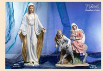 15E9 - Statuine Santi - Immagini Sacre 'Nàvel' - Articoli Regalo - Bomboniere Porcellana - Prodotti - Rebolab