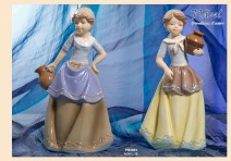 15EA - Statuine 'Nàvel' - Articoli Regalo - Bomboniere Porcellana - Prodotti - Rebolab