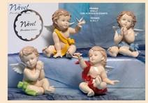 162C - Angeli 'Nàvel' - Articoli Regalo - Bomboniere Porcellana - Prodotti - Rebolab