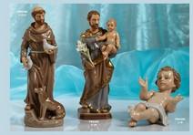 175B - Statuine Santi - Immagini Sacre 'Nàvel' - Articoli Regalo - Bomboniere Porcellana - Prodotti - Rebolab