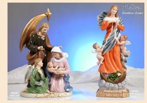 1765 - Statuine Santi - Immagini Sacre 'Nàvel' - Articoli Regalo - Bomboniere Porcellana - Prodotti - Rebolab