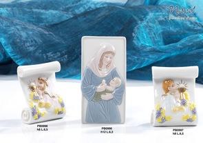 182C - Statuine Santi - Immagini Sacre 'Nàvel' - Articoli Regalo - Bomboniere Porcellana - Prodotti - Rebolab