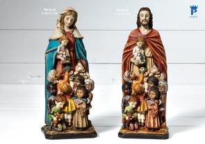 188A - Statuine Santi - Immagini Sacre - Articoli Religiosi - Prodotti - Rebolab