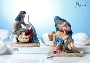1892 - Statuine Santi - Immagini Sacre 'Nàvel' - Articoli Regalo - Bomboniere Porcellana - Prodotti - Rebolab