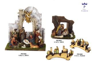 19F4 - Presepi - Natività Classic - Natale e Altre Ricorrenze - Prodotti - Paben
