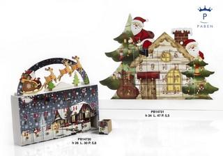 1A09 - Regali - Ceramiche Natalizie - Natale e Altre Ricorrenze - Prodotti - Paben