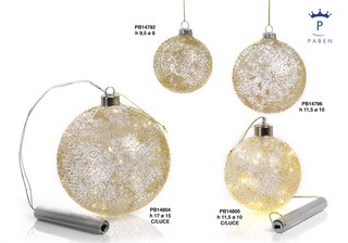 1A1A - Decorazioni - Addobbi Natalizi - Natale e Altre Ricorrenze - Prodotti - Paben