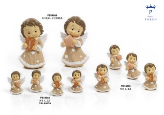 1A28 - Angeli Resina - Articoli Religiosi - Prodotti - Paben