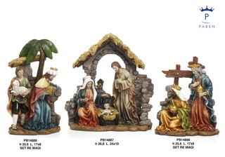 1A2F - Presepi - Natività Classic - Natale e Altre Ricorrenze - Prodotti - Paben