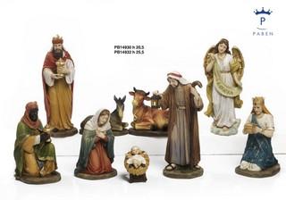 1A3E - Presepi - Natività Resina - Articoli Religiosi - Prodotti - Paben