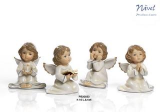 1A42 - Angeli 'Nàvel' - Articoli Regalo - Bomboniere Porcellana - Prodotti - Rebolab