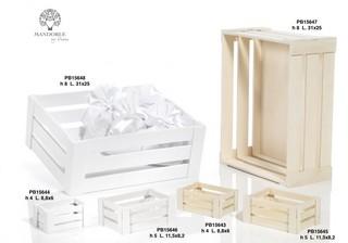 1AEF - Collezioni Legno - Mandorle Bomboniere  - Prodotti - Paben