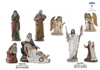 1B0F - Statue Pasquali - Natale e Altre Ricorrenze - Prodotti - Paben