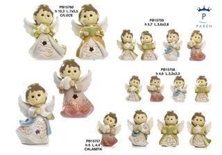 1B11 - Angeli Resina - Mandorle Bomboniere  - Prodotti - Paben