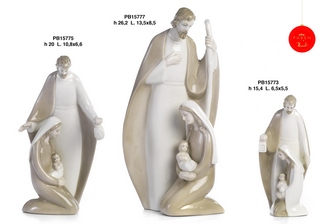 1B17 - Presepi - Natività Porcellana - Natale e Altre Ricorrenze - Prodotti - Rebolab