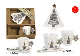 1B22 - Regali - Ceramiche Natalizie - Natale e Altre Ricorrenze - Prodotti - Paben
