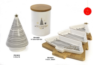 1B23 - Regali - Ceramiche Natalizie - Natale e Altre Ricorrenze - Prodotti - Paben