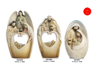 1B2E - Presepi - Natività Resina - Articoli Religiosi - Prodotti - Paben