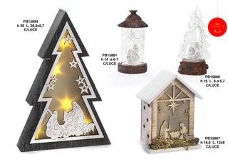 1B32 - Decorazioni - Addobbi Natalizi - Natale e Altre Ricorrenze - Prodotti - Paben