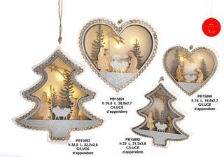 1B3A - Decorazioni - Addobbi Natalizi - Natale e Altre Ricorrenze - Prodotti - Rebolab