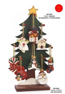 1B42 - Decorazioni - Addobbi Natalizi - Natale e Altre Ricorrenze - Prodotti - Rebolab