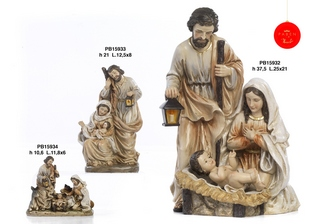 1B47 - Presepi - Natività Resina - Articoli Religiosi - Prodotti - Paben