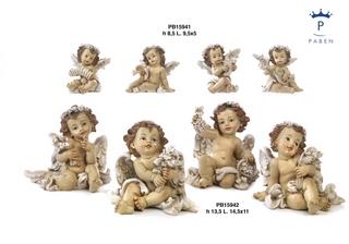 1B4B - Angeli Resina - Natale e Altre Ricorrenze - Prodotti - Rebolab