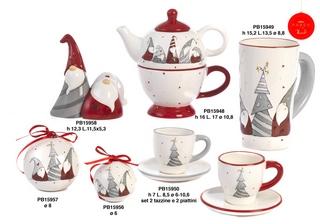 1B4D - Regali - Ceramiche Natalizie - Natale e Altre Ricorrenze - Prodotti - Paben
