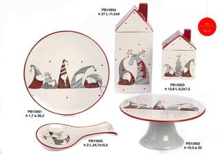 1B4E - Regali - Ceramiche Natalizie - Natale e Altre Ricorrenze - Prodotti - Paben