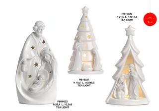 1B61 - Presepi - Natività Porcellana - Natale e Altre Ricorrenze - Prodotti - Rebolab