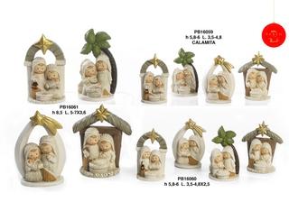 1B6C - Presepi - Natività Resina - Natale e Altre Ricorrenze - Prodotti - Paben
