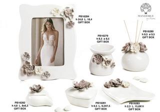 1BAD - Collezioni Porcellana-Ceramica - Mandorle Bomboniere  - Prodotti - Paben