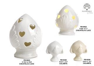 1BE8 - Collezioni Porcellana-Ceramica - Mandorle Bomboniere  - Prodotti - Rebolab
