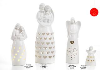 1C42 - Angeli Porcellana - Natale e Altre Ricorrenze - Prodotti - Rebolab