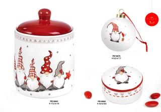 1C48 - Regali - Ceramiche Natalizie - Natale e Altre Ricorrenze - Prodotti - Paben