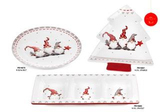 1C4A - Regali - Ceramiche Natalizie - Natale e Altre Ricorrenze - Prodotti - Paben