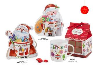 1C51 - Regali - Ceramiche Natalizie - Natale e Altre Ricorrenze - Prodotti - Paben