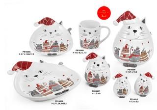 1C52 - Regali - Ceramiche Natalizie - Natale e Altre Ricorrenze - Prodotti - Paben