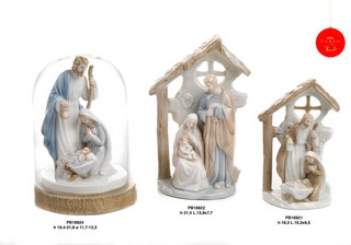 1C55 - Presepi - Natività Porcellana - Natale e Altre Ricorrenze - Prodotti - Rebolab