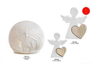 1C5A - Angeli Porcellana - Natale e Altre Ricorrenze - Prodotti - Rebolab