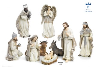 1C6A - Presepi - Natività Resina - Natale e Altre Ricorrenze - Prodotti - Paben
