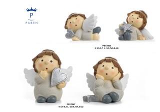1C84 - Angeli Resina - Natale e Altre Ricorrenze - Prodotti - Rebolab