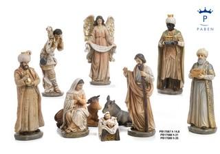 1C8A - Presepi - Natività Resina - Natale e Altre Ricorrenze - Prodotti - Paben