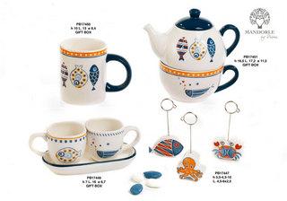1CE9 - Collezioni Porcellana-Ceramica - Mandorle Bomboniere  - Novità - Rebolab