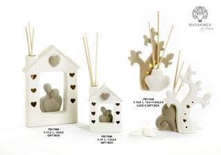 1D02 - Collezioni Porcellana-Ceramica - Mandorle Bomboniere  - Prodotti - Rebolab