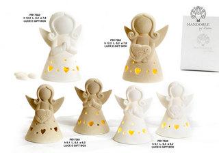 1D06 - Angeli Porcellana - Articoli Religiosi - Prodotti - Paben