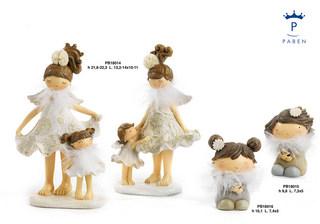 1D90 - Bambini - Fatine Resina - Mandorle Bomboniere  - Prodotti - Rebolab